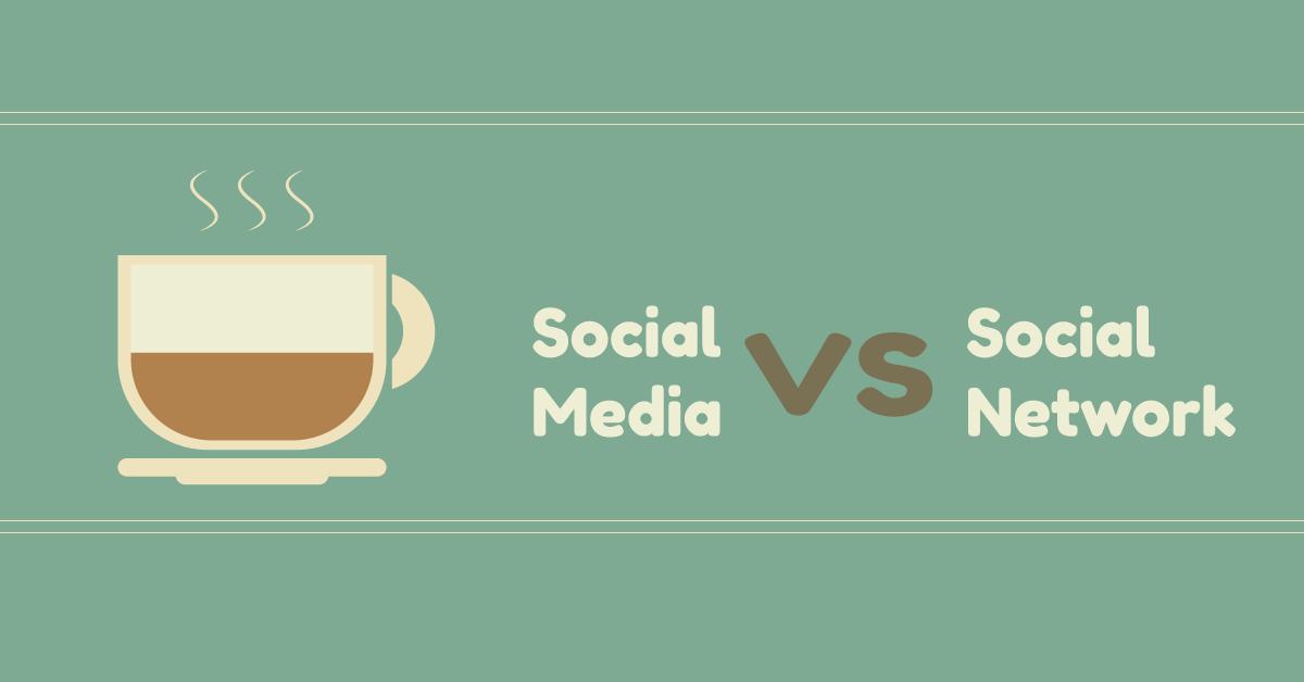 Tu la sapevi la differenza tra social media e social network?