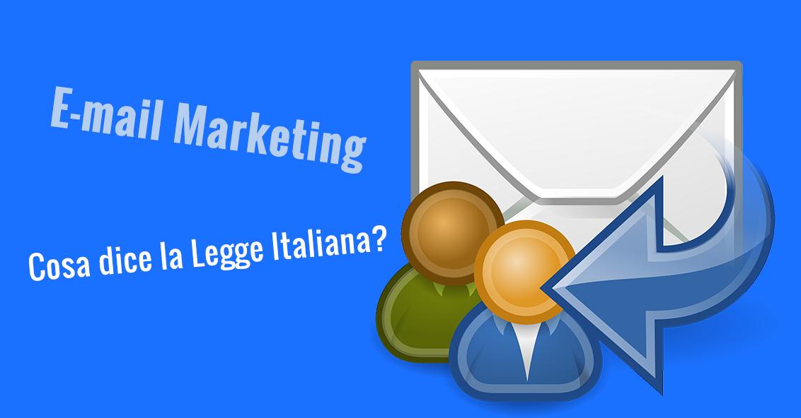 E-mail marketing legge italiana