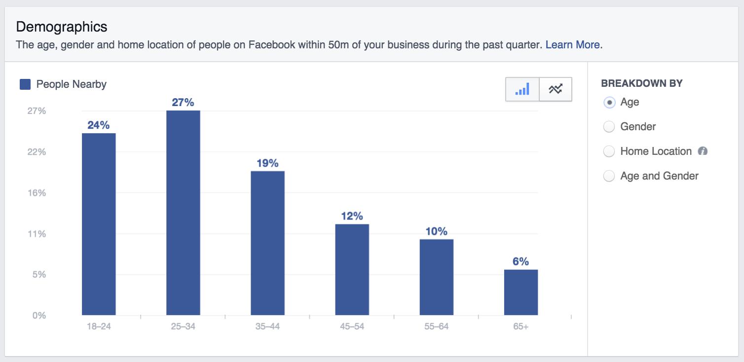 Facebook Local Demographic Insights