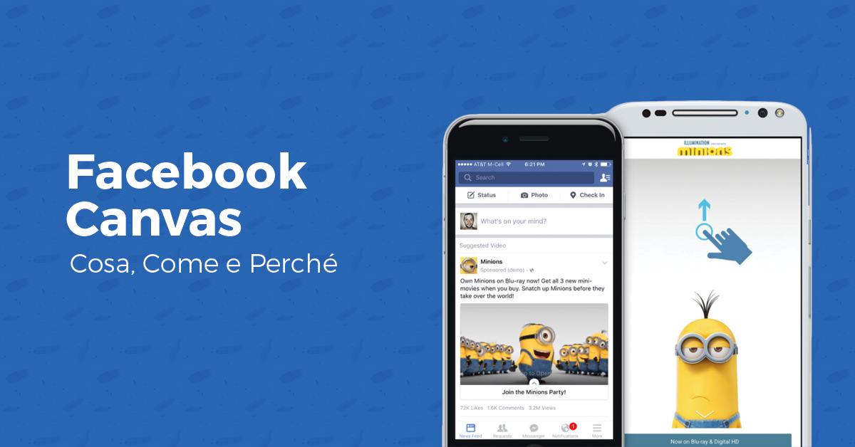 Facebook Canvas: cosa, come e perché usarle