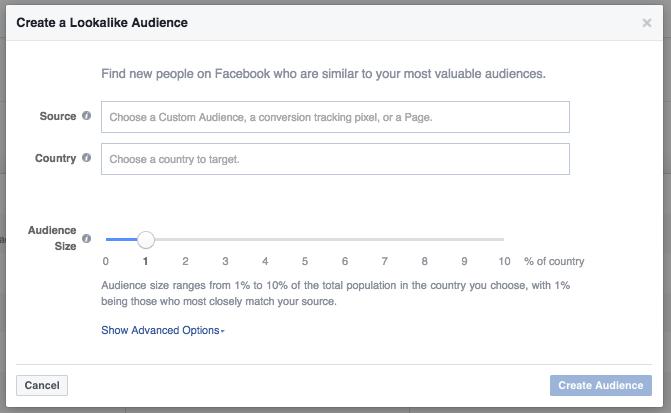creazione lookalike audience