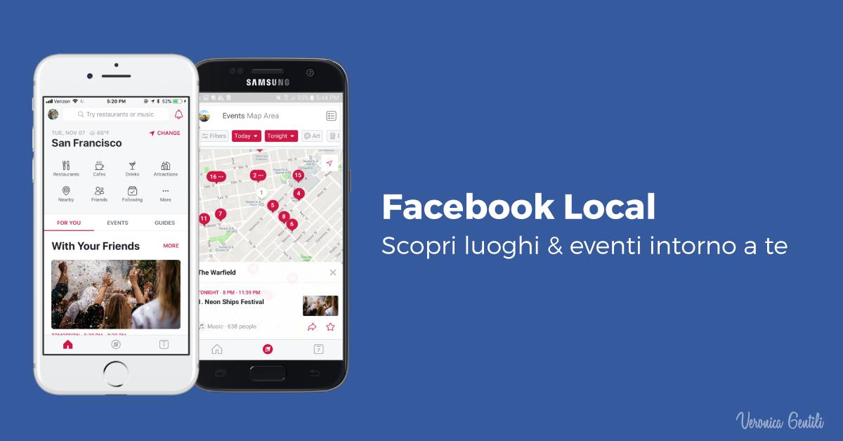 Facebook Local, tutto quello che devi sapere