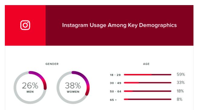 instagram-caratteristiche demografiche utenti