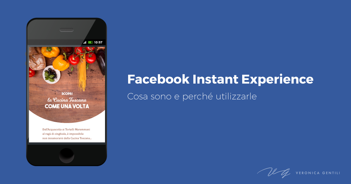 Facebook Instant Experience: cosa sono e perché usarle