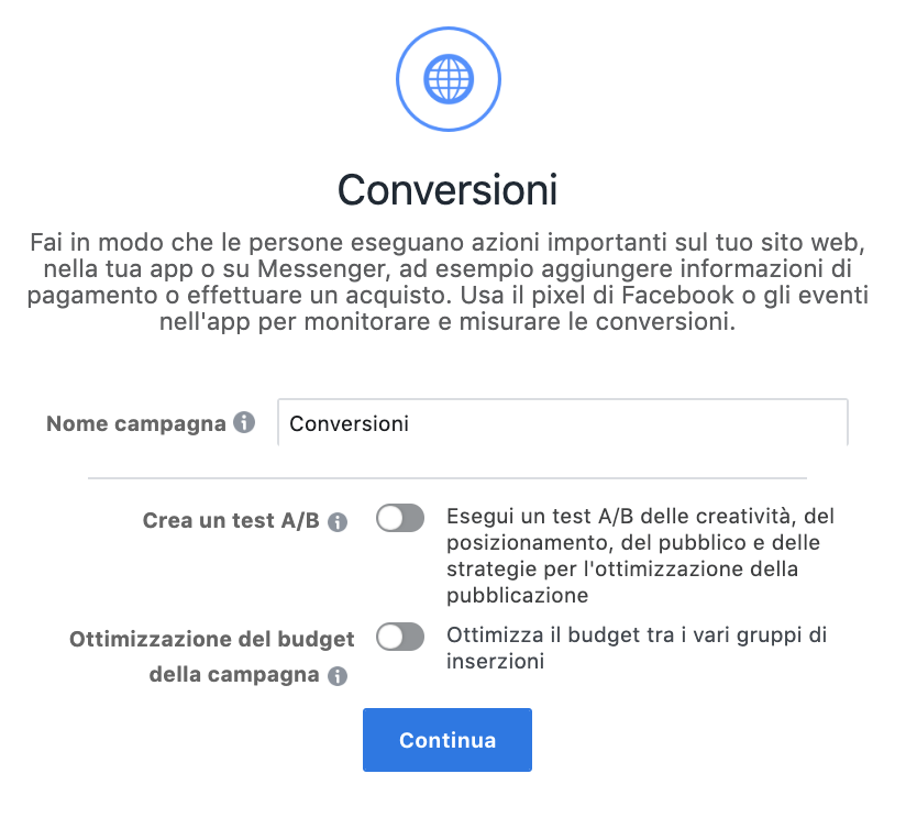 campaign budget optimization livello campagna