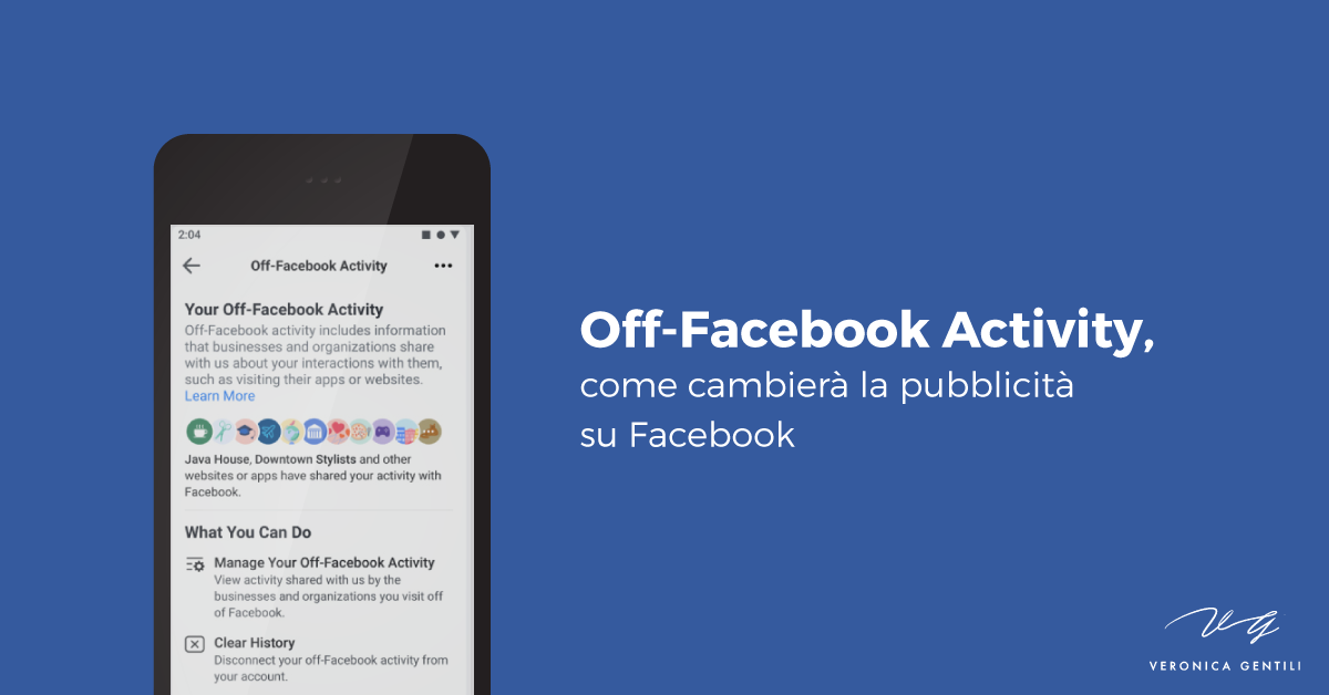 Off-Facebook Activity, come cambierà la pubblicità su Facebook