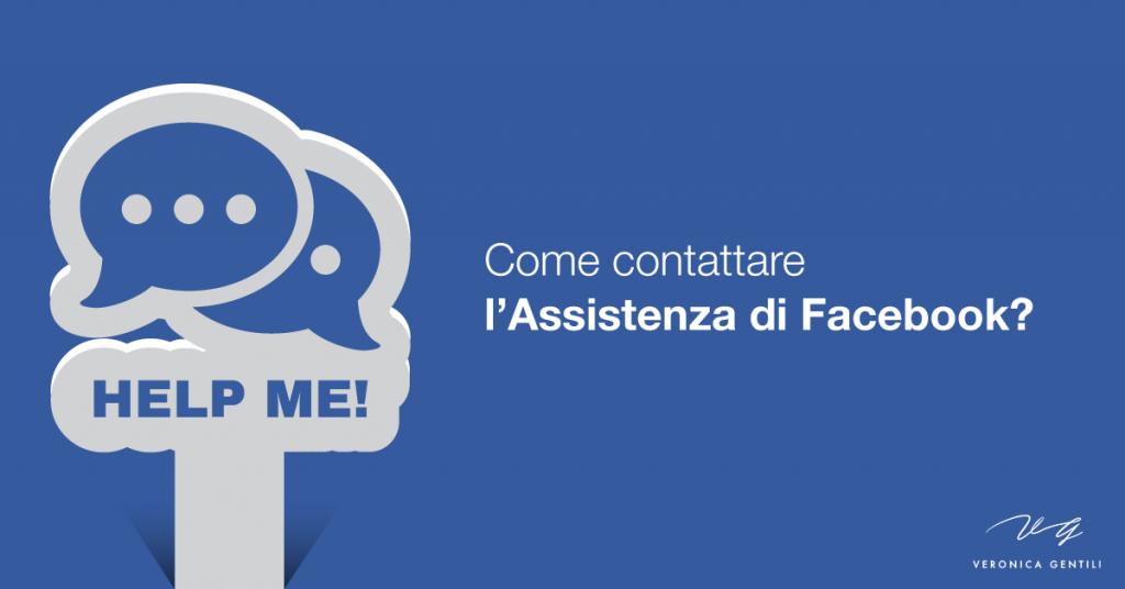 contattare assistenza facebook